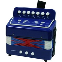 *NCT 0056 MUZIEKINSTRUMENTEN accordeon blauw