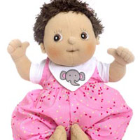 *RB 120084 POPPEN realistische baby Molly