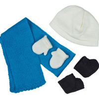 RB 90102 POPPEN cold outside set NIEUW