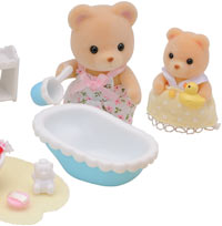 SY 2228 SYLVANIAN FAMILIES baby in bad