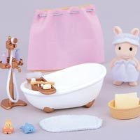 SY 3562 SYLVANIAN FAMILIES bad en douche set