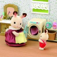 SY 3565 SYLVANIAN FAMILIES wasmachine set
